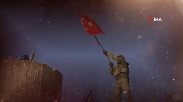 TSK'dan tüyleri diken diken eden 18 Mart klibi