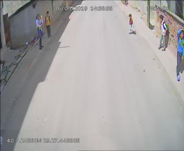 Minik Yasin bu kazada hayatını kaybetti