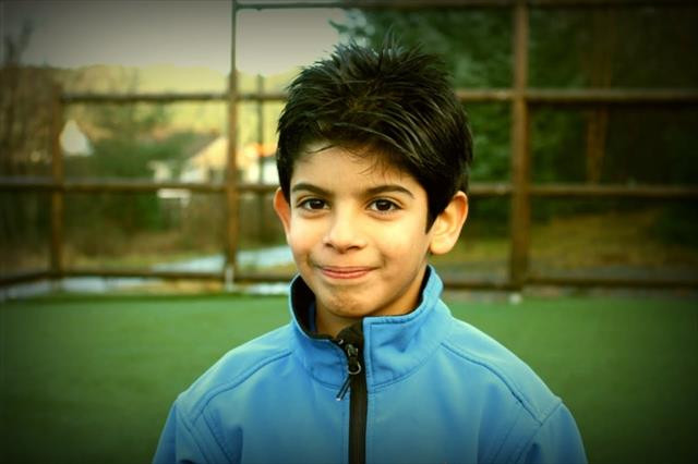 10 yaşındaki 'Filistinli Messi' Milan'da