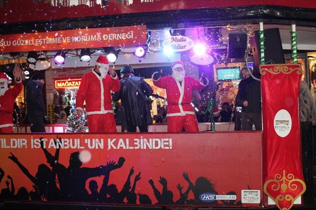 Nostaljik tramvayda yeni yıl konseri