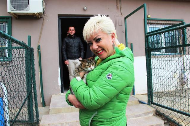 Kediye işkence yapan 2 kişi gözaltına alındı