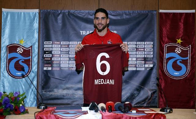 Trabzonspor, Medjani ile 1,5 yıllık sözleşme imzaladı