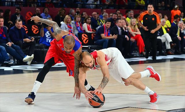 Olympiakos finale yükseldi