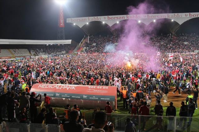 Samsunspor'da büyük sevinç