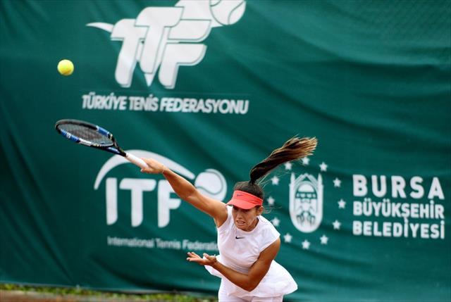 60 bin Dolar ödüllü tenis turnuvası başladı