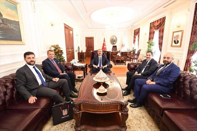 Fikret Orman, Adalet Bakanı Abdulhamit Gül'ü ziyaret etti