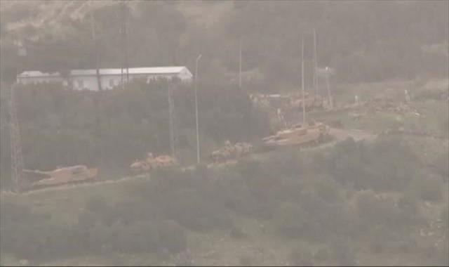 Kilis'e roketlerin atıldığı Darmık Dağı abluka altına alındı