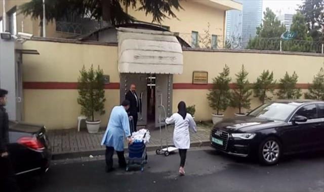 Aramadan önce temizlik ekibi geldi