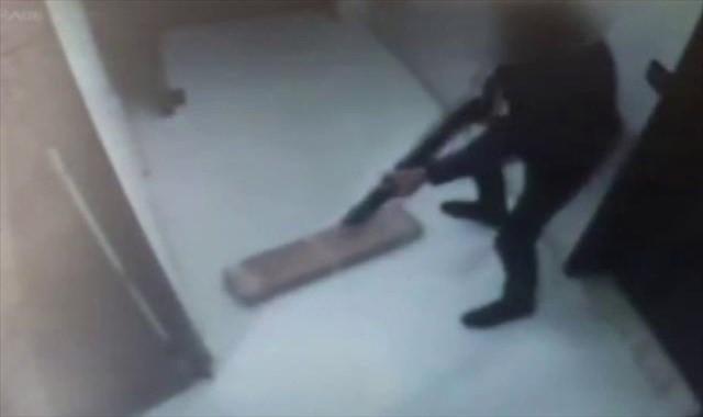 İş yerinde pompalı tüfekle dehşet