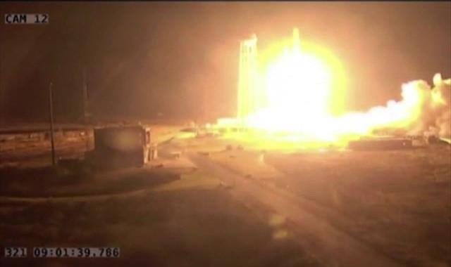 NASA, uzay istasyonuna kargo roketi Antares'i fırlattı