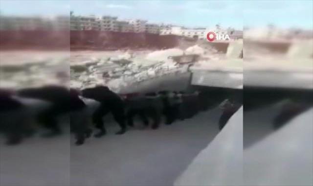 Afrin'de TSK ve ÖSO'dan yağmacılara operasyon