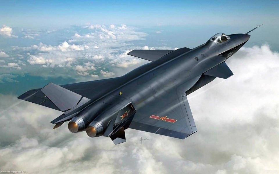 Çin 'hayalet uçağı' ile gövde gösterisi yaptı 2.resim