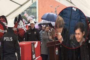 Şehit Emniyet Müdürü Altuğ Verdi Rize'den yağmur ve dualarla uğurlandı