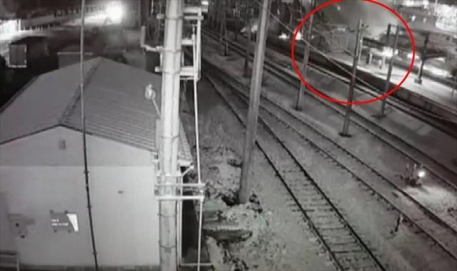 Ankara'daki tren kazasının görüntüleri ortaya çıktı