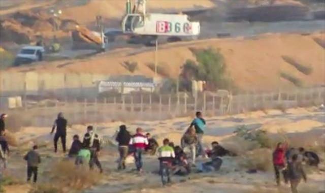 İsrail askerlerinin zulmü bitmiyor: 22 yaralı