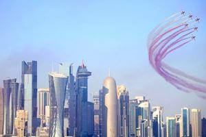 Katar'daki törene Türk damgası