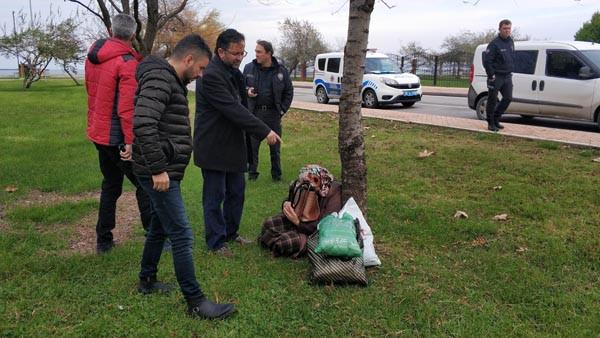 Samsun'da hareketli anlar! Denize atlamak istedi, polisi görünce de kaçtı.. 1.resim