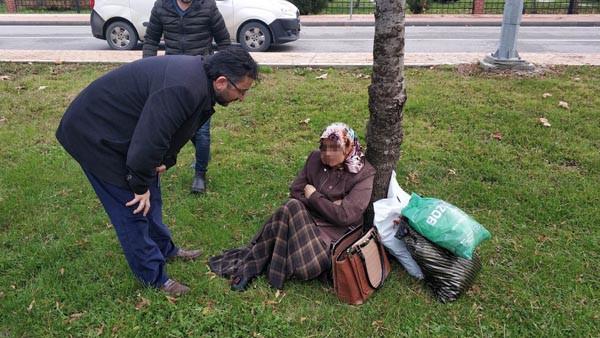Samsun'da hareketli anlar! Denize atlamak istedi, polisi görünce de kaçtı.. 2.resim