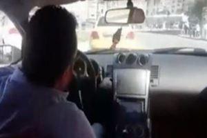 İzmir'de trafikte dehşet saçıyor...