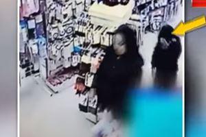 Annesi çaldı, çocuğu utandı!