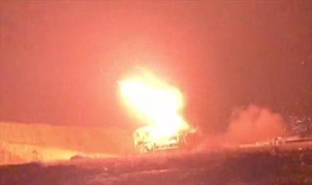 Hatay'ın sınır birliklerinden terör hedefleri vuruluyor