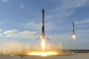 Mars roketi Falcon Heavy fırlatıldı!