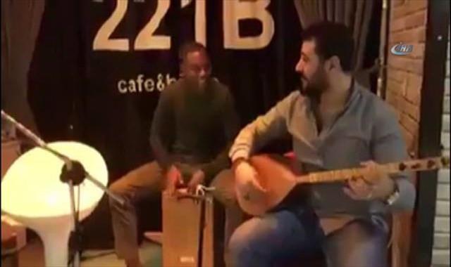Robinho bu kez müzikte döktürdü