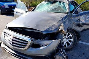 Esat Kabaklı trafik kazası geçirdi