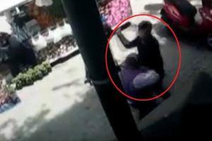 8 aylık hamile kadını tekme tokat dövdü