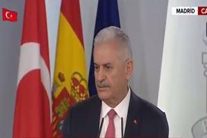 Başbakan Binali Yıldırım'dan Avrupa Parlamentosuna yanıt: İşine baksın