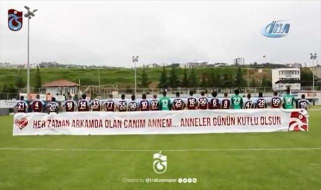 Trabzonspor'dan 'Anneler Günü' videosu