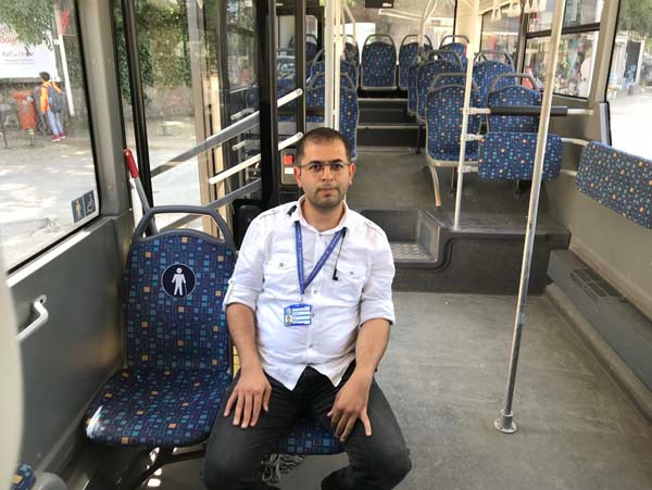 Bir şehir onu konuşuyor! Kahraman otobüs şoförü... 2.resim