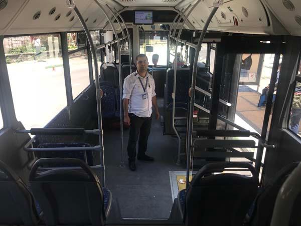 Bir şehir onu konuşuyor! Kahraman otobüs şoförü... 3.resim