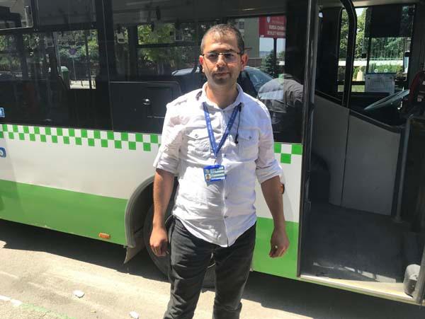 Bir şehir onu konuşuyor! Kahraman otobüs şoförü... 4.resim