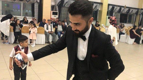 Almanya'daki gelin, Diyarbakır'daki düğününe 'görüntülü' katıldı 2.resim