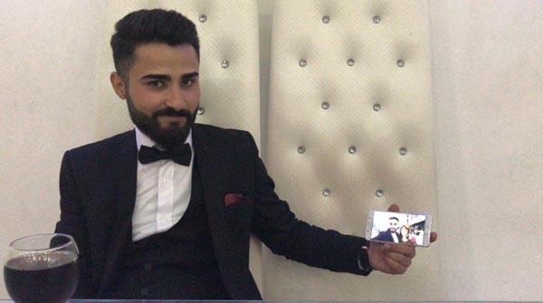 Almanya'daki gelin, Diyarbakır'daki düğününe 'görüntülü' katıldı 3.resim