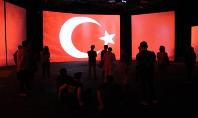 Türk tarihini panaromik müzede öğrendiler
