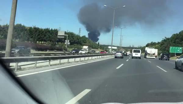 Son dakika: Kağıthane'de fabrikada yangın çıktı! 4.resim