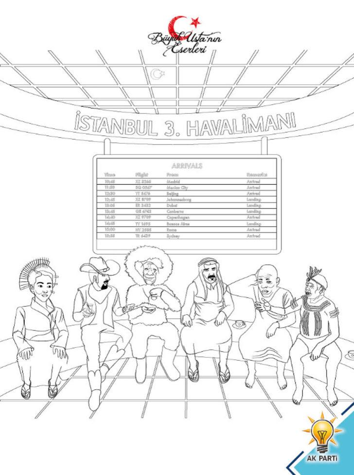 AK Parti yatırımları, çocuklara boyama kitabıyla anlatıldı 3.resim