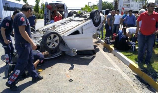 Ölümlü trafik kazalarında büyük gerileme