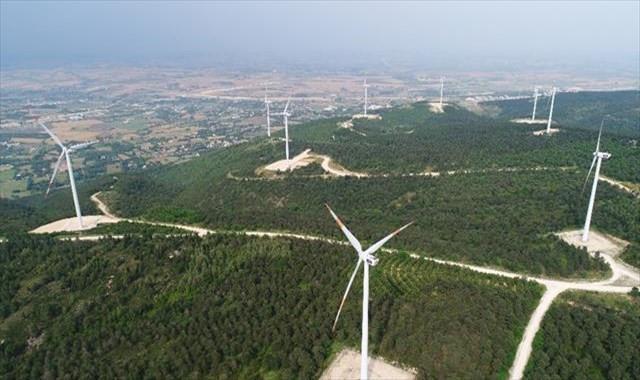 Türkiye'nin  Enerji Gülleri  havadan görüntülendi