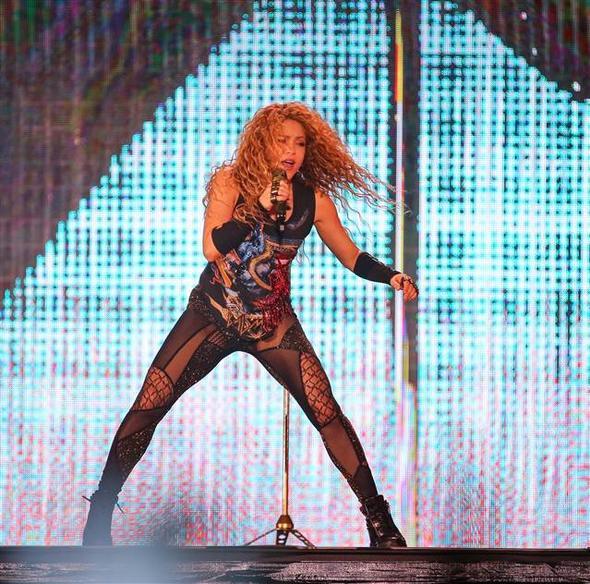 Shakira Boğaz'ı salladı! 1.resim