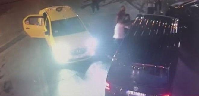 İstanbul'un Maltepe ilçesinde UBER sürücüsüne saldırı