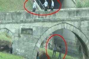 Tarihi köprüdeki restorasyona polis baskını