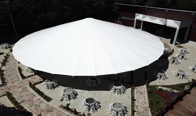 İşte Türkiye'nin en büyük şemsiyesi
