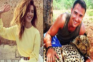 Gökçe Bahadır, Yunan işletmeci Yiannis Magkos ile aşk yaşıyor