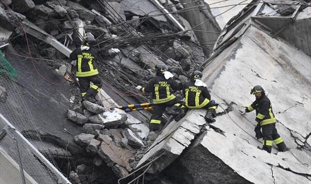 İtalya'da köprü çöktü: 11 ölü, 5 yaralı