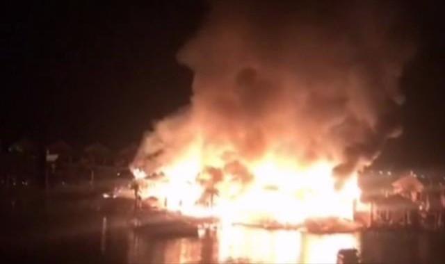 KKTC'de 5 yıldızlı otelde yangın