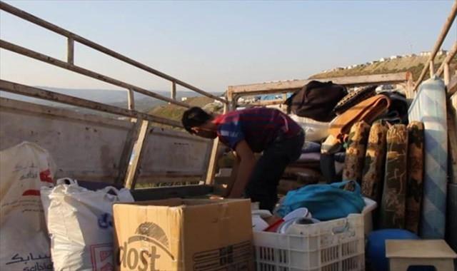 İdlip mutabakatının ardından Suriyeliler evlerine dönüyor