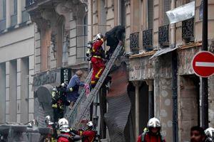 Fransa'nın başkenti Paris'te patlama! Yaralılar var